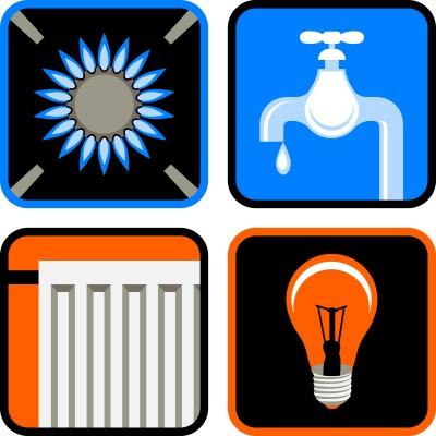 el- och vattenförbrukningen - ekonomisk